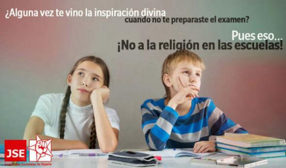 JSE No religión escuela