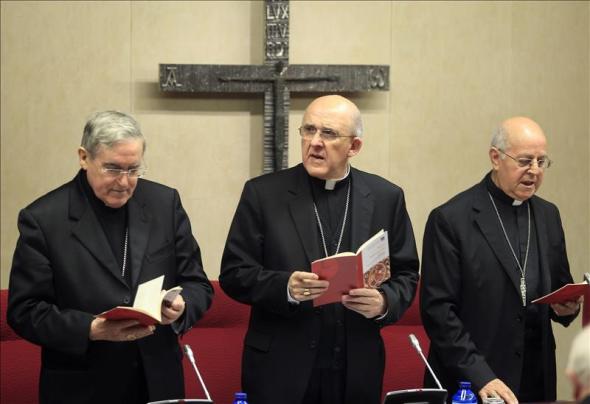 Blazquez Osoro y Sistach obispos 2014