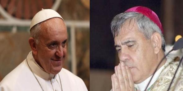 Bergoglio y Javier
