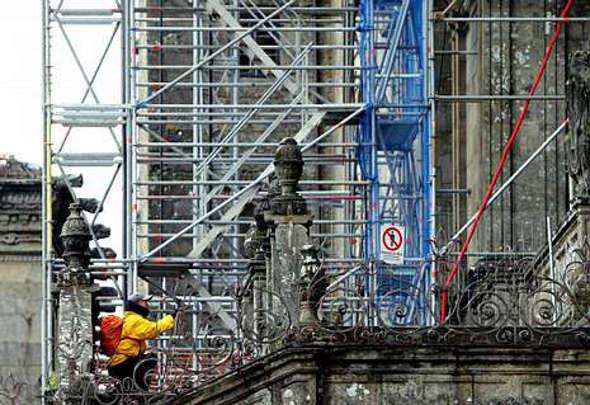 catedral santiago obras 2014