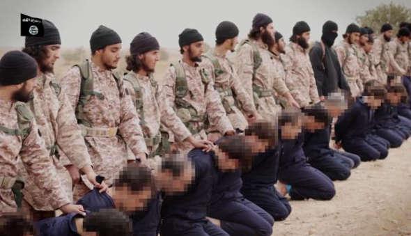 IS ejeciciones de rehenes 2014