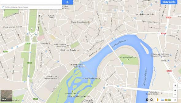 Mezquita Córdoba desaparece de Google Maps