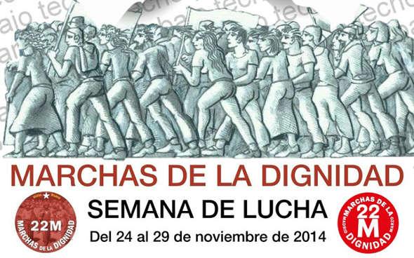 Marchas de la Dignidad nov 2014