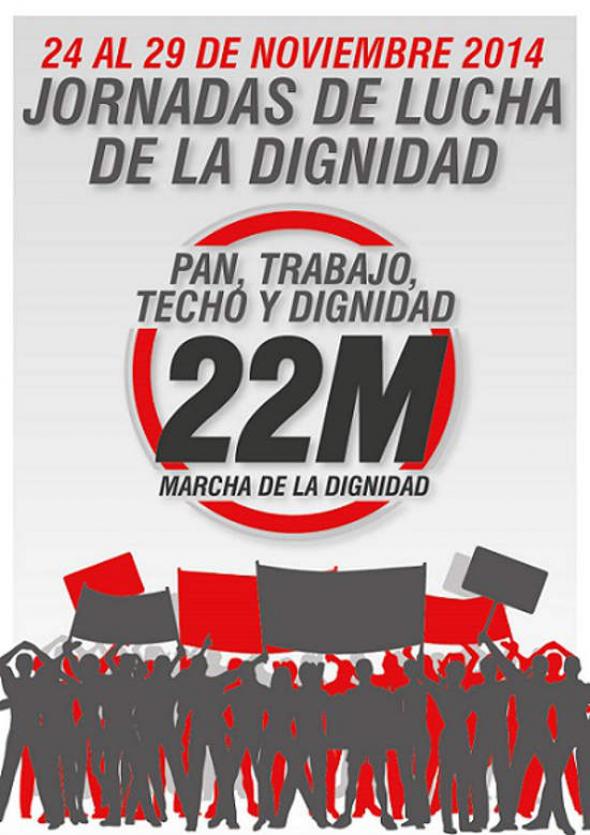 cartel-marchas dignidad nov 2014
