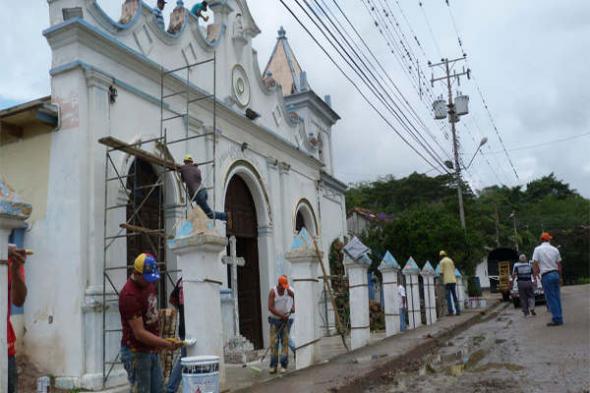 Capilla en Zorca Venezuela