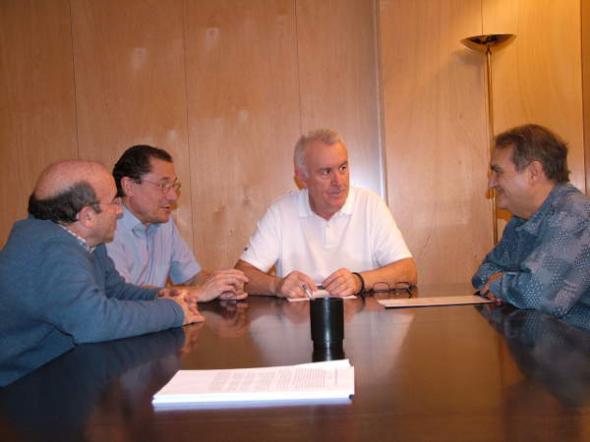 Reunión Europa Laica con IU Compromiso electoral 2015