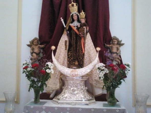 virgen del Carmen Cardeña