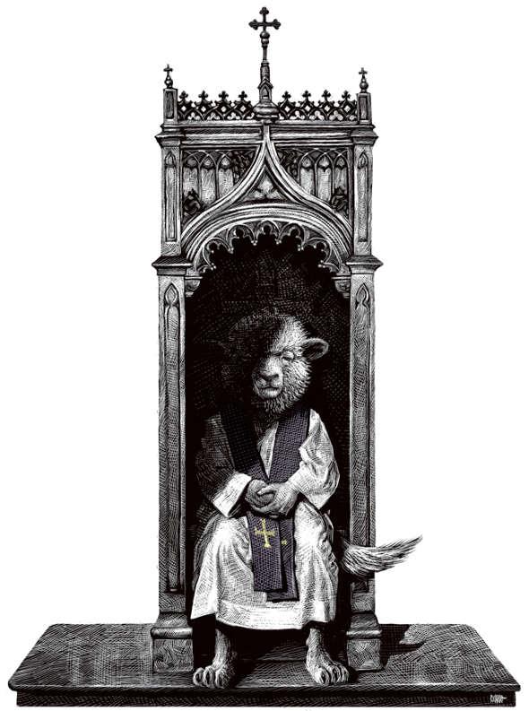 lobos clero abusos