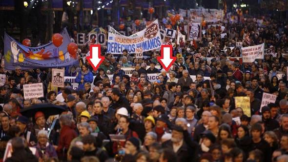 Europa Laica Marcha Dignidad 20141129