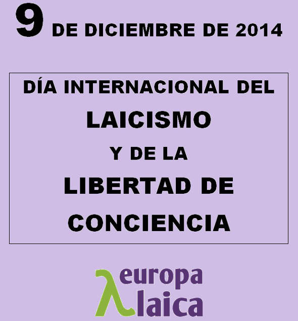 Día del laicismo 2014