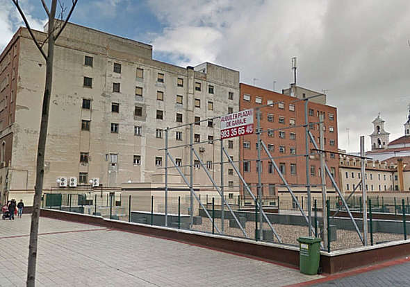 Terrenos de Cáritas Valladolid 2014