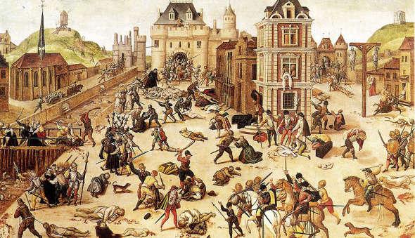 hugonotes matanza de san Bartolomé
