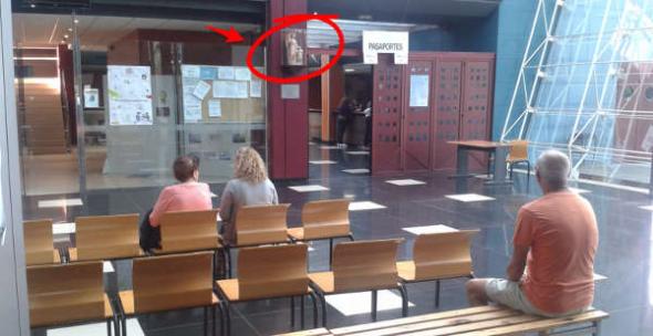 Angel custodio comisaria Canarias 2014
