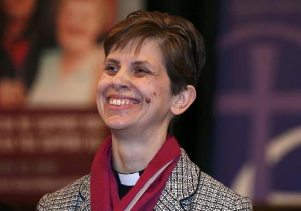 Lane primera obispa de Inglaterra