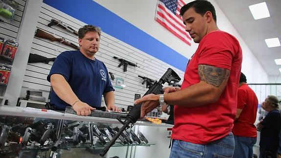 venta de armas en USA