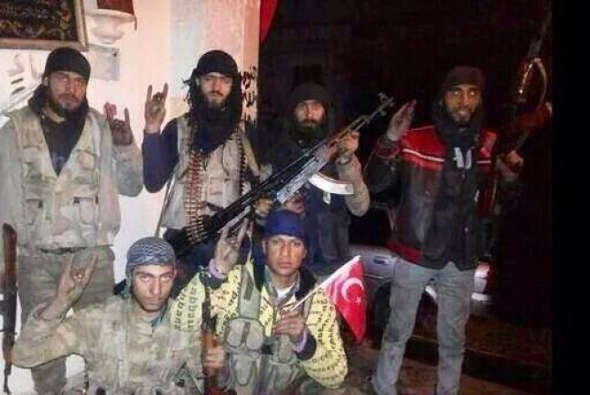 Yihadistas turcos en Siria EI