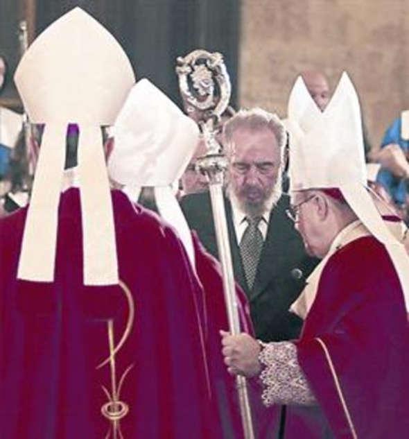 obispos y Fidel Castro 2004