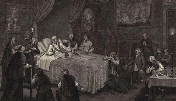 La muerte de Pío VI