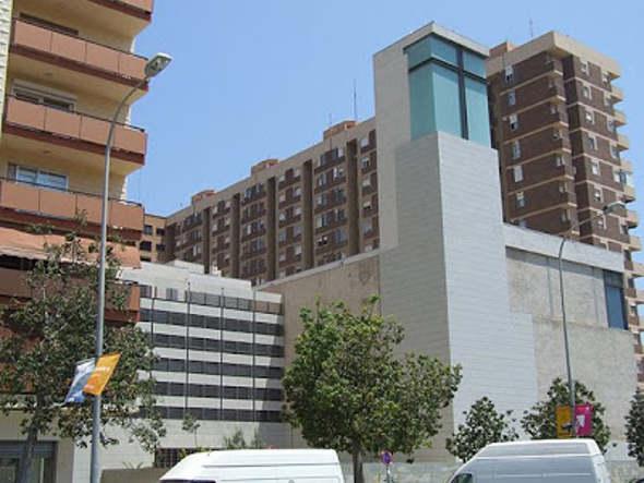 Iglesia en la avenida de Blasco Ibáñez Valencia