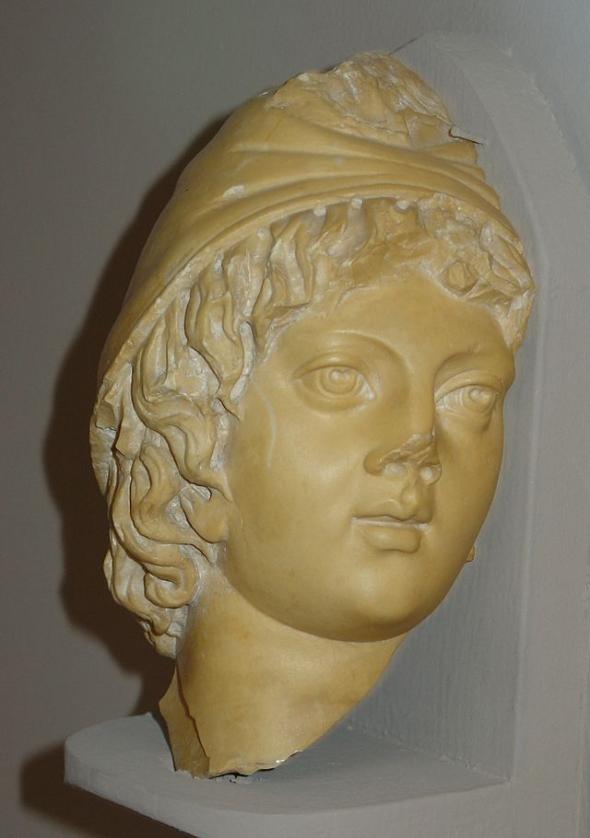 Escultura de Atis. Museo de ?feso (Turquía)