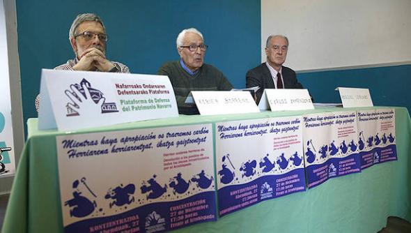 Plataforma Defensa Patrimonio Navarro 2014
