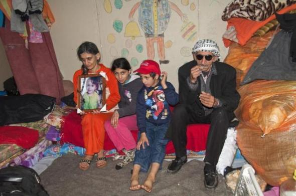 cristianos refugiados Irak 2014