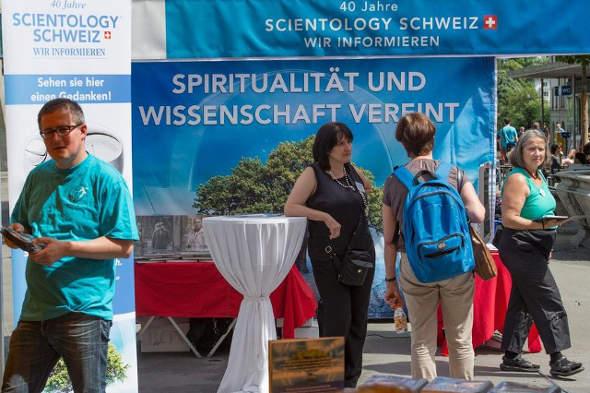 Cienciologia en Suiza 2014