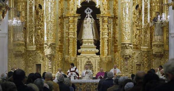 misa obispo en Diputacion Cordoba 2014