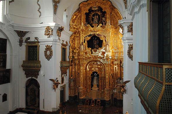 La Merced iglesia en la Diputación de Córdoba