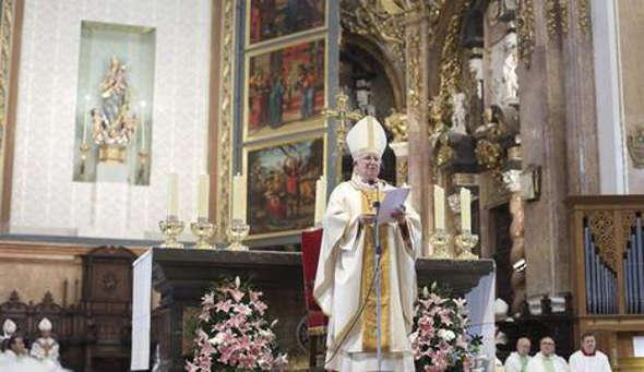 cardenal Cañizares Valencia 2014