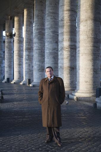 Francisco Vázquez, en la Plaza de San Pedro del Vaticano en 2007.- MARCE·LÍ S?NEZ