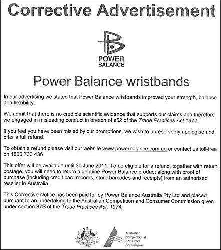Rectificación de Power Balance
