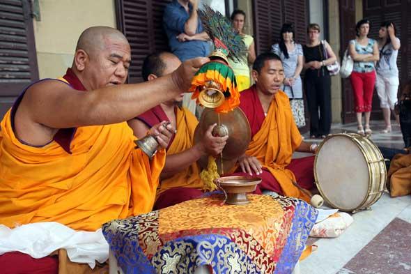 Ritual budista San Sebastián