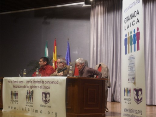 Día del Laicismo en Granada 2009