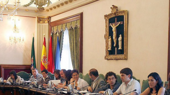 Ayuntamiento Pamplona Salón Plenos