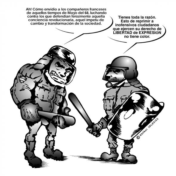 Barcebona - Cargas policiales muy poco cristianas...!
