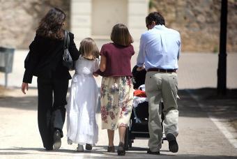 En España, se celebran unas 20.000 primeras comuniones al año.- JES?S CÍSCAR