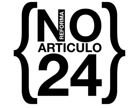 NO Reforma articulo 24 constitución