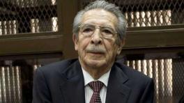 Ríos Montt dictador Guatemala