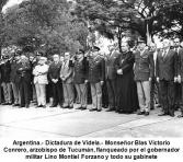 Argentina. Obispo con militares