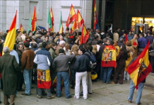 Franquistas en San Jerónimo