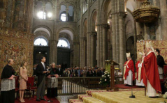 ofrenda Felipe VI Santiago 2014