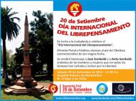 Europa Laica se suma al «Día Internacional del Liprepensamiento» que se celebra en todo el mundo el 20 de septiembre