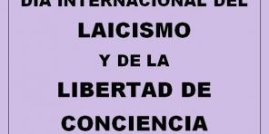Manifiesto del Día Internacional del Laicismo y la Libertad de Conciencia.