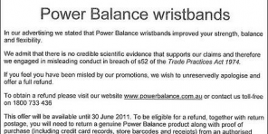 Rectificación de Power Balance
