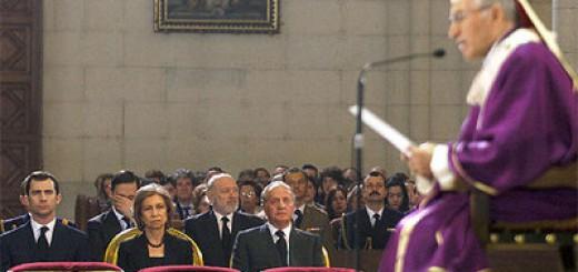 funeral estado Madrid rouco