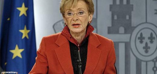 Maria Teresa Fernandez de la Vega vicepresidenta 2004