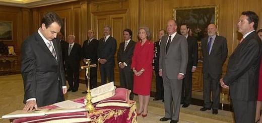 toma posesion Zapatero 2004