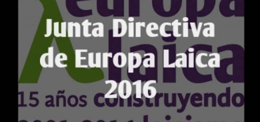 Junta Diectiva Europa Laica 2016