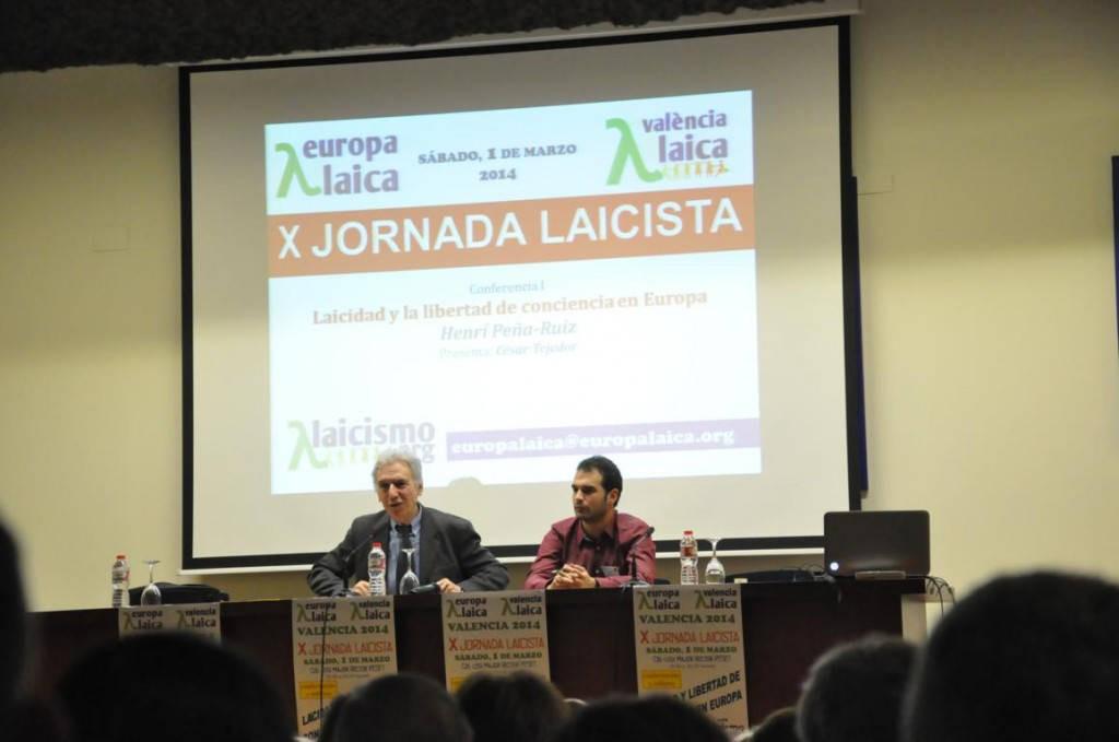 X Jornada Laicista Valencia Laica 2014 b